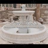 Fontana bianca esterna Mf-743 di Carrara del granito di pietra di marmo