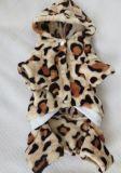 Roupa do cão de animal de estimação do projeto do leopardo da forma, produtos do animal de estimação
