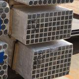 6000 Serie Tausendstel-Ende-verdrängte quadratisches Aluminiumrohr
