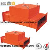 Separador magnético permanente de la tubería de la serie Rcya-100 para el cemento, producto químico, carbón, plástico, materiales de construcción
