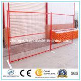 Gute Qualitäts-Belüftung-überzogener temporärer Zaun/Ineinander greifen-Zaun