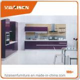 Armadio da cucina popolare della lacca della mobilia della cucina con il disegno libero