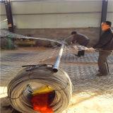 China-Zubehör heißes eingetauchtes galvanisiertes Gabion Ineinander greifen verwendet für Aufbau