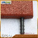 Azulejo de suelo de goma al aire libre, azulejo de goma de Playgroung, pavimentadora de goma