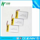 Nachladbare Li-Polymer-Plastik Batterie 403048 500mAh 3.7V