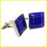 Stulpe-Link der blauen quadratischen würdevollen Herren