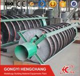 Máquina de mineração Transportador de calha espiral para concentrado de minerais