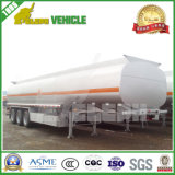 Acoplado del depósito de gasolina del Tri-Árbol 40000-50000L