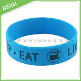 I regali promozionali poco costosi hanno personalizzato i Wristbands del silicone