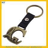 Paris-Land-Firmenzeichen-Entwurf volles Metall überzogenes Keychain - d-Zeichen