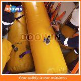 Sacos de água do teste de carga da prova do barco salva-vidas da salsicha