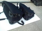 2PCS gesetzter EVA Laufkatze-Beutel mit gute Qualitätsfabrik-Preis