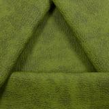 Di Duotone tessuto verde del cuoio del Faux dell'unità di elaborazione semi