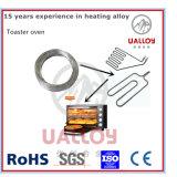 Alambre de la resistencia térmica del nicrom Ni80cr20 para los hornos de la tostadora