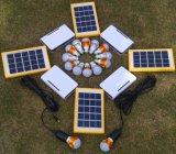 Sistema dei kit di illuminazione della batteria solare LED dalla fabbrica di iso