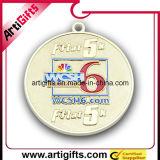 Medaglia d'argento di fusione sotto pressione di disegno del cliente