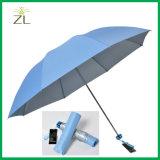 يصمّم بوليستر [190ت] فضة يكسى مظلة بناء