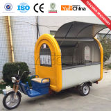 Carro elétrico do alimento de 3 rodas