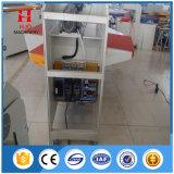 La máquina automática de la prensa del calor funciona de la manera de Roting de cuatro estaciones