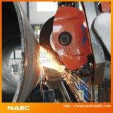 Máquina de escopleo con gubia/de pulir de la costura circunferencial externa