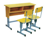 Good Quality를 가진 Lb 0215 School Furniture 또는 Student Table Chair Set