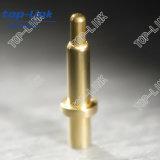 Com o Pin de Hole Brass Pogo com Mola-carregado