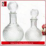 frasco de vidro para espírito, uísque do cristal de frasco de vinho de 750ml 1000ml, licor