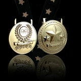 2017 de Aangepaste Gouden Medaille van de Toekenning met de Zwarte Zak van de Gift van het Fluweel