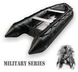 アルミニウム床(FWS-A430)が付いている軍のボート
