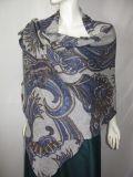 Sjaal van het Af:drukken van 100% de Kasjmier Gebreide