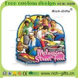 말레이지아 PVC 냉장고 자석 (RC-MA)를 위한 관광객 기념품 제품 선전용 선물