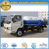 5 toneladas de 4X2 100 del HP de las aguas residuales del tanque 5 de Cbm del vacío de carro de la succión