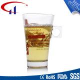 caneca de vidro do chá de Decaled do Sell 260ml quente (CHM8073)