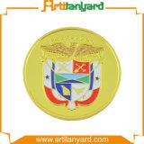 Förderung kundenspezifische Herausforderungs-Münze mit Decklack