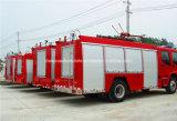 4X2 Isuzuの二重タクシートラック3000リットルの水消火活動タンク