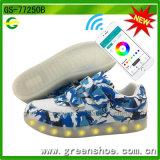 Neue Schuh-Hersteller-kühle helle Schuhe APP-esteuerte LED mit Ferncontroller