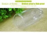 自由なBPAの高品質のガラス赤ん坊の挿入びん