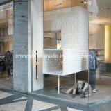 Panneau imperméable à l'eau contemporain texturisé du mur 3D pour la mémoire décorative