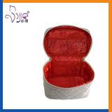 Большая емкость косметической коробки случая тщеты Quilt сатинировки