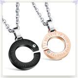 De Halsband van de Manier van de Juwelen van het Roestvrij staal van de Tegenhanger van de manier (NK725)