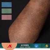 Material novo do PVC 2017 para couro sintético do PVC do sofá \ sacos \ sacos de couro da sapata