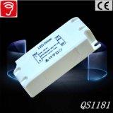 fuente de alimentación aislada voltaje de la luz del panel de 18W Singel con el Ce TUV QS1181