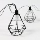 Luces al aire libre accionadas solares de la lámpara de la cadena del Decking del jardín