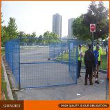 6 pés de cerca provisória revestida do Temp de /Construction da cerca do pó padrão de X10feet Canadá