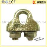 Clip malleabili galvanizzate colore della fune metallica DIN1142