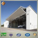 Hangar mobile d'avions de structure métallique de coût bas