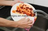 Deixar cair Non-Stick da limpeza do petróleo de pano do prato da fibra natural