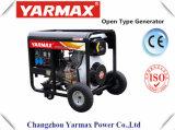 Diesel van het Frame van de Enige Fase van de Dieselmotor van Yarmax Ym9500e de Lucht Gekoelde Open Reeks van de Generator Genset