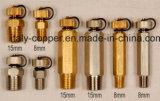 Enchufe de cobre amarillo de la prueba de la carpeta