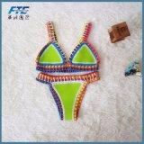 De sexy Bikini van Swimwear van de Polyester voor Strand